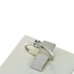 Nostre Creazioni anello solitario oro diamante 4985-3