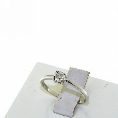 Nostre Creazioni anello solitario diamante 4985-4