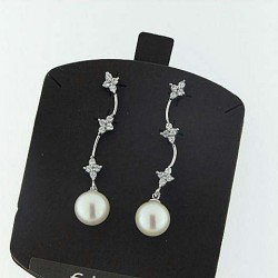 AMBROSIA aop015 gold earrings pearls collection