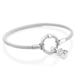 TOUS bracelet 712341520 silver medallions collection