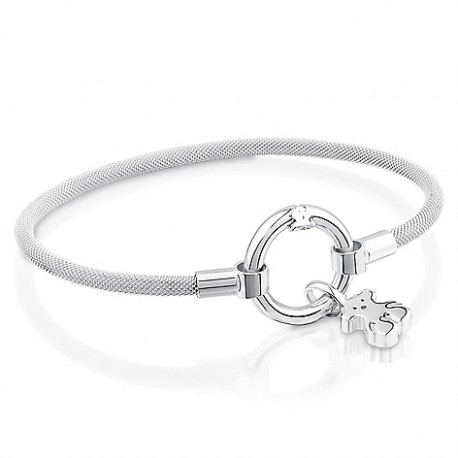 TOUS bracelet 712341550 silver medallions collection