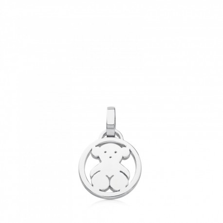 TOUS pendent 712164510 in silver medallions collection