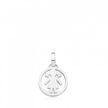 TOUS pendent 712164530 in silver medallions collection