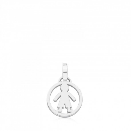 TOUS pendent 712164540 in silver medallions collection