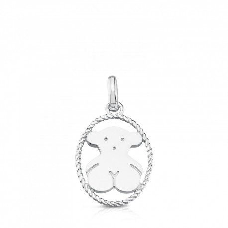 TOUS pendant camee 712324580 silver