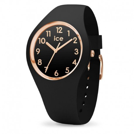 ICE WATCH 015340 ice glam collection black and rose gold