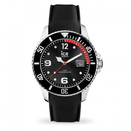 Ice Watch 015773 orologio nero cassa acciaio