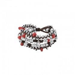 UNO de 50 pul1601rojmtl0m bracelet mi sello