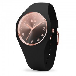 ICE WATCH 015746 sunset small numbers black collection