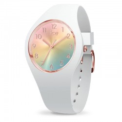 ICE WATCH  015743 sunset small rainbow collection white rose pvd