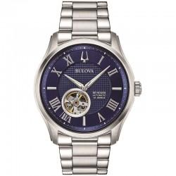 Bulova 96a218 orologio movimento automatico collezione wilton