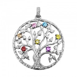 JULIE JULSEN pendent JJPE0246.1 tree of life collection