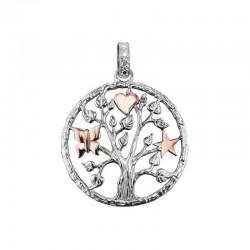 Julie Julsen  JJPE0300 ciondolo albero della vita stella cuore farfalla
