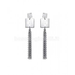 2 JEWELS 261135 dama steel earrings