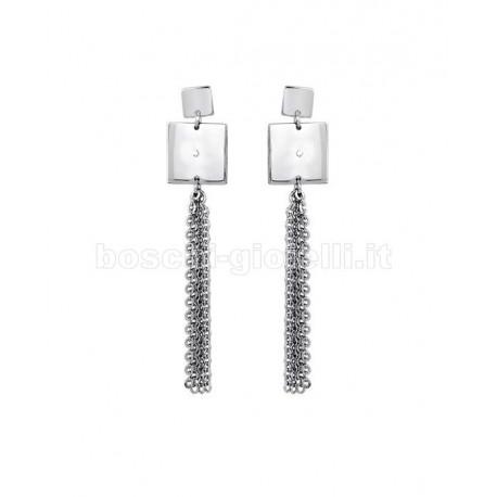 2 JEWELS 261135 dama steel earrings