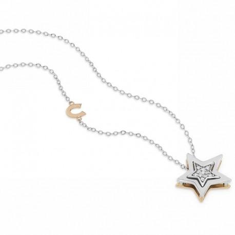 Comete gioielli GLB 1448 ciondolo stella con diamanti