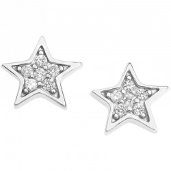 COMETE ORB 920 jewelry earrings stars collection in gold with diamonds