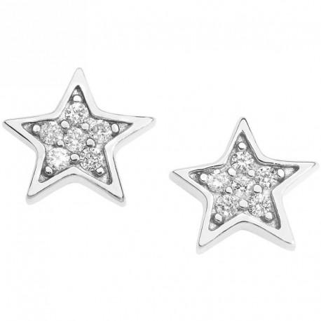 Comete gioielli ORB 920 orecchini diamanti stella