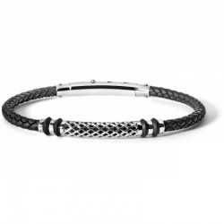 COMETE ubr 625 bracelet net collection in steel rubber