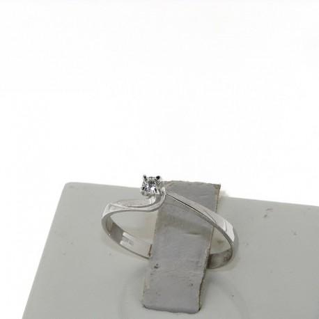 Nostre Creazioni anello solitario diamante D-4271-5