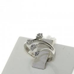 Nostre Creazioni anello petali diamanti D-4605-AN