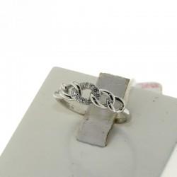 Nostre Creazioni anello intreccio d'amore oro e diamanti D-N1653