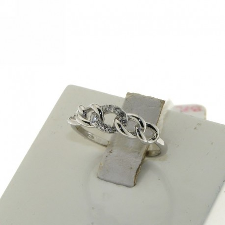 OUR CREATIONS diamonds engagement ring D-N1653 gold 18k