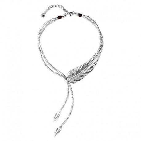 UNO de 50 col1306mtl0000u necklace FEATHER