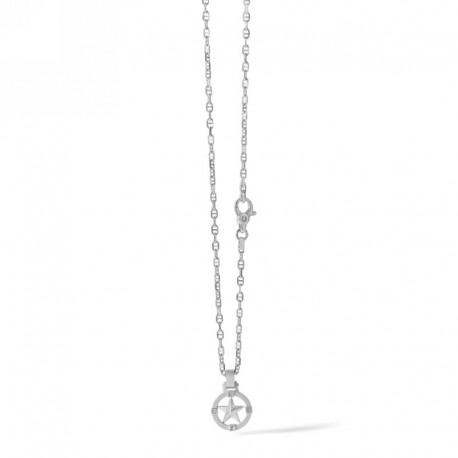 COMETE ugl 655 necklace North Star in silver