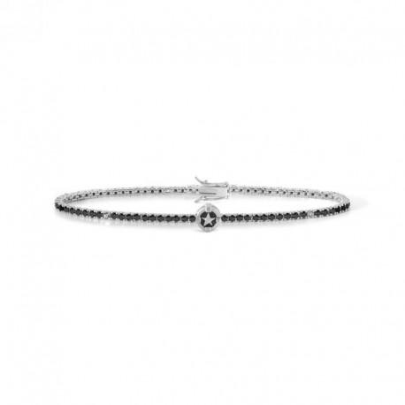 COMETE UBR 918 tennis bracelet North Star in silver