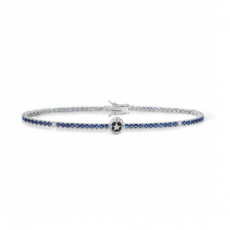 COMETE UBR 916 tennis bracelet North Star in silver