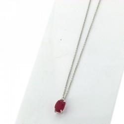 Nostre creazioni ciondolo rubino diamante reggio emilia ci5642r01