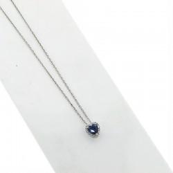 Nostre creazioni ciondolo zaffiro blu diamanti ci5031z08