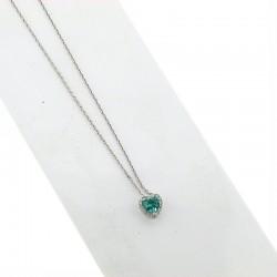 Nostre creazioni ciondolo smeraldo diamanti ci5031s08