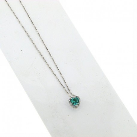 OUR CREATIONS pendent emerald diamonds ci5031s08