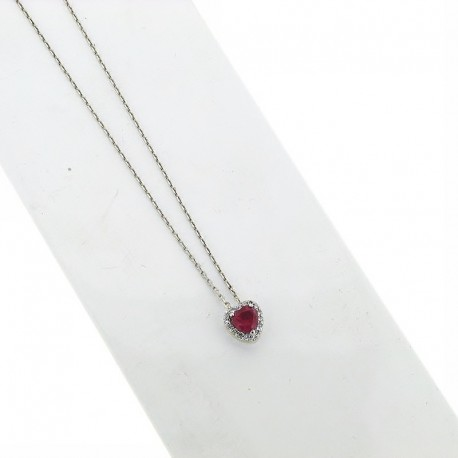OUR CREATIONS pendent ruby diamonds ci5031r08