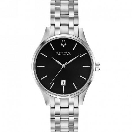 BULOVA 96m150 watches unisex slim quartz classic collection