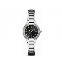 Bulova 96r207 orologio acciaio diamanti
