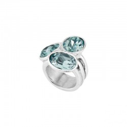 Uno de 50 ANI0591AZUMTL anello treasure