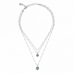 Necklace Uno de 50 Stars' rain collection col1362azumtl0u