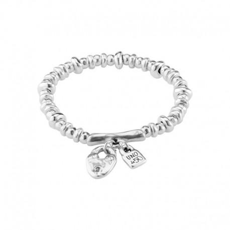 Elastic bracelet Uno de 50 Encandado collection pul1808mtl0000m