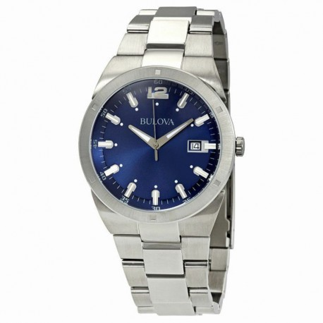 Bulova watch 96b220 classic collection quartz muvement