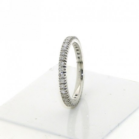 Eternity ring collection in gold with natural diamonds db1681anet