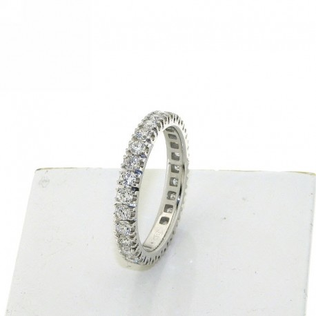 Eternity ring collection in gold with natural diamonds db1682anet