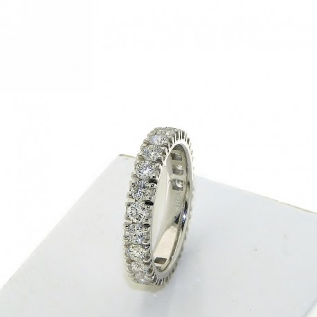 Eternity ring collection in gold with natural diamonds db1683anet