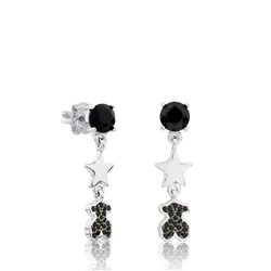 TOUS silver earrings 512793510 join collection
