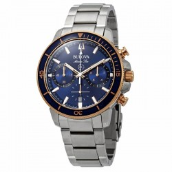 Bulova Watch 98b301 MARINE STAR CHRONOGRAPH collection
