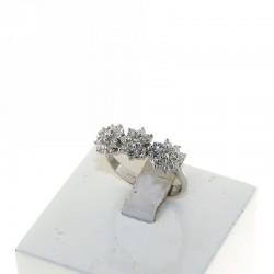 Nostre creazioni anello trilogy fiore reggio emilia DAN4565BR