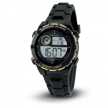 Navigare Digital movement chrono collection NA205-02 water resistant 100m