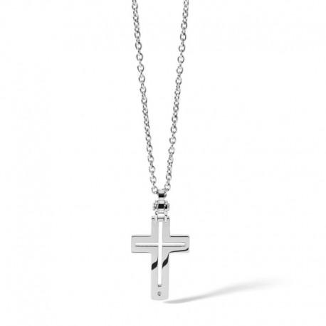 Comete Gioielli chain with cross pendent UGL 488 Zero collection